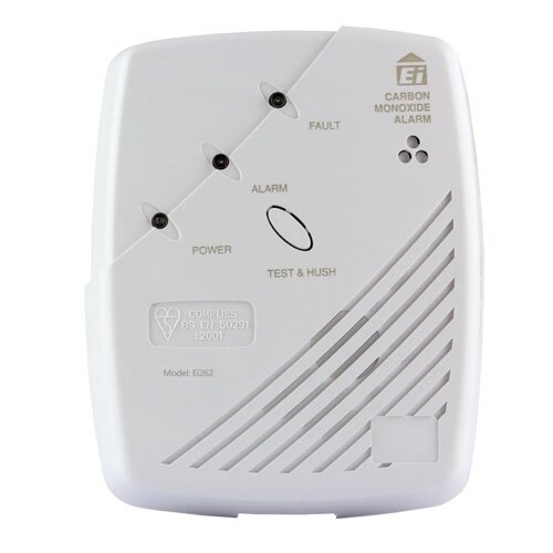 Radio-Interlinked Mains Powered CO Alarm - Ei262