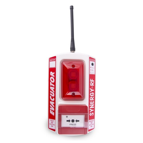 Evacuator Synergy RF Call Point Site Alarm