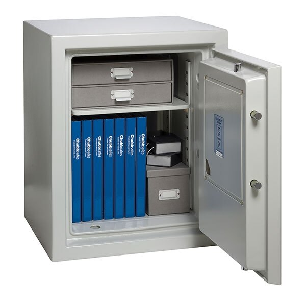 The Chubbsafes Executive safe provides 60 minutes fire protection for paper