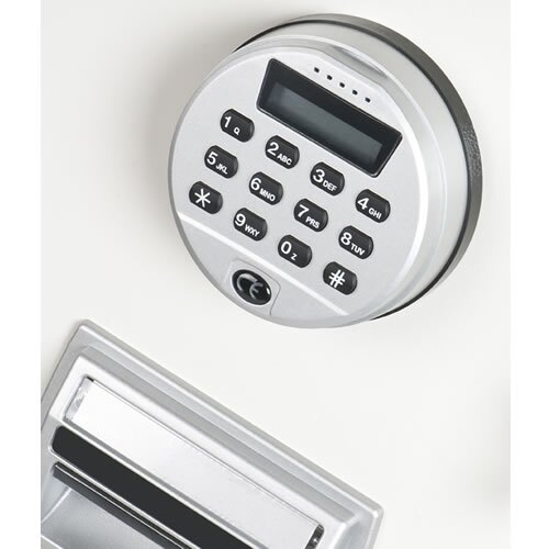 Supplied with a high security electronic lock as standard