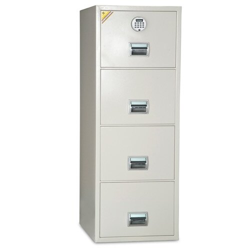 Burton FF400 Fire Resistant Filing Cabinet for Paper