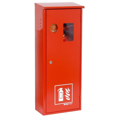 Metal co2 fire extinguisher cabinets