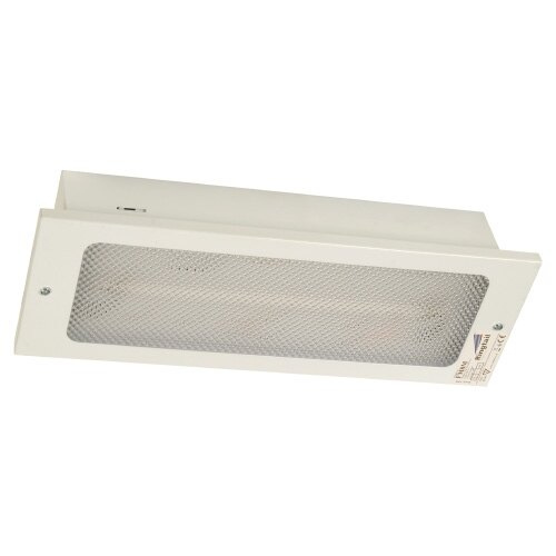 Recessed Emergency Bulkhead Luminaire With Self-test - FM8/ST