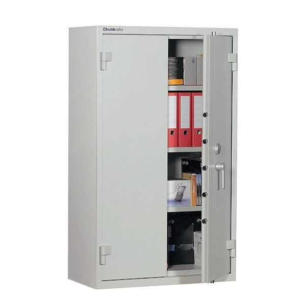 The ForceGuard safe is fitted with a high security key lock