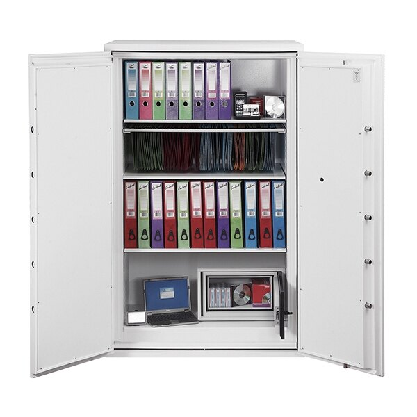 120 minutes of superior fire protection for paper, digital media, cash and valuables