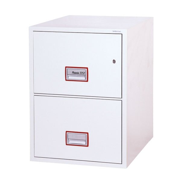 Phoenix World Class Vertical Fire File 2252 Key Lock