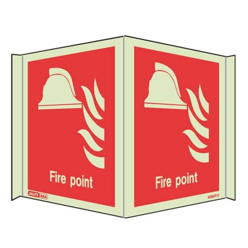 Panoramic Fire Equipment Signs