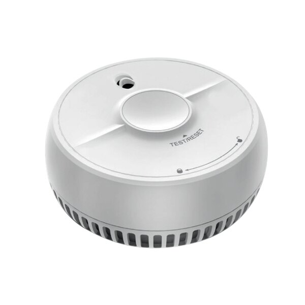 9V Optical Smoke Alarm with Test and Hush Button - FireAngel SB1-R