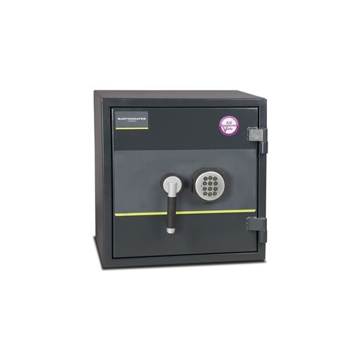 Burton Firesec 10/60 Fire and Security Safe with Electronic Lock