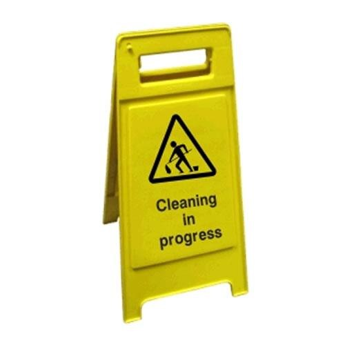 Janitorial Cleaning Sign - Cleaning
