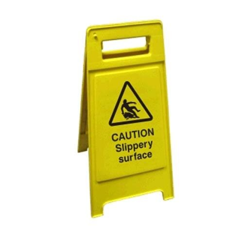 Janitorial Cleaning Sign - Slippery Surface