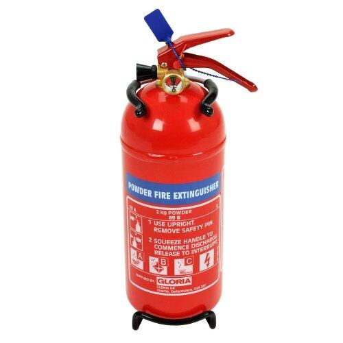Fire Powder Can : Kg powder fire extinguisher gloria pd g £ ex vat