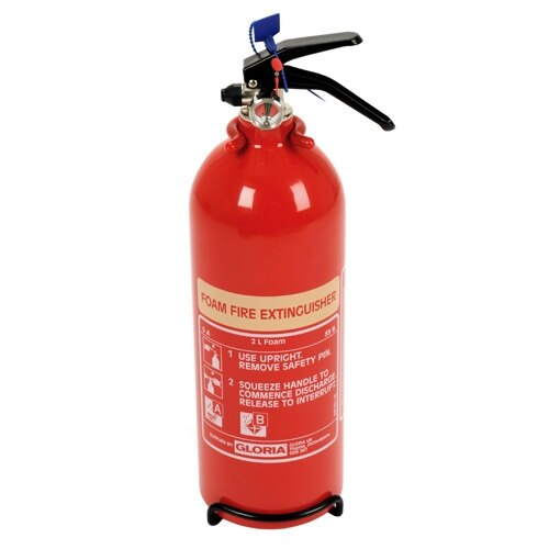 2ltr Foam Fire Extinguisher - Gloria SD2LW