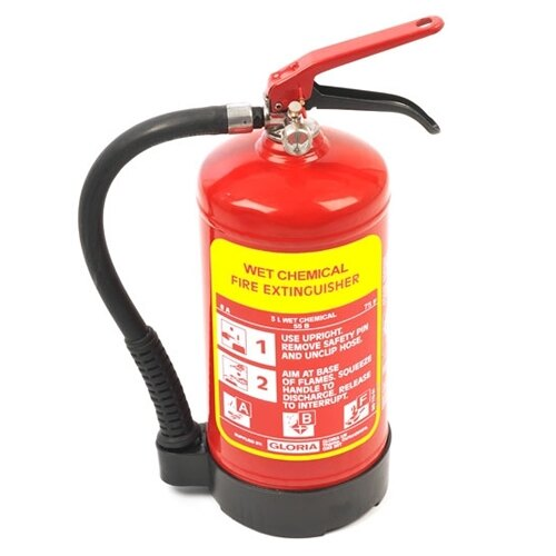 3ltr Wet Chemical Fire Extinguisher - Gloria W3DFC