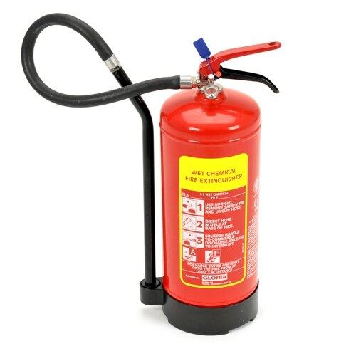 6ltr Wet Chemical Fire Extinguisher - Gloria W6DRC