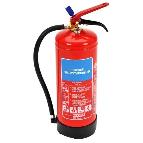 6kg Powder Fire Extinguisher - Gloria PD6GA