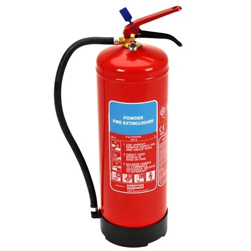 9kg Powder Fire Extinguisher - Gloria PD9GA