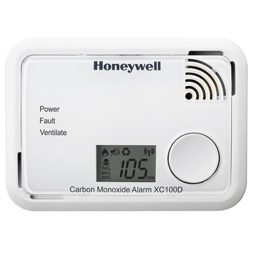 The Honeywell XC100D Carbon Monoxide Detector