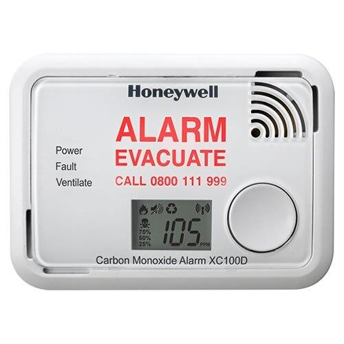 carbon monoxide detector with optional digital display honeywell xc100. Black Bedroom Furniture Sets. Home Design Ideas