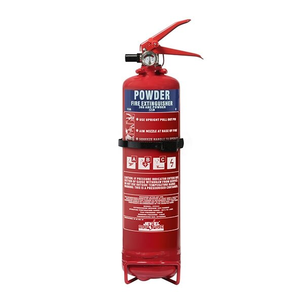 3kg Slimline Powder Fire Extinguisher - Jewel Fire Group