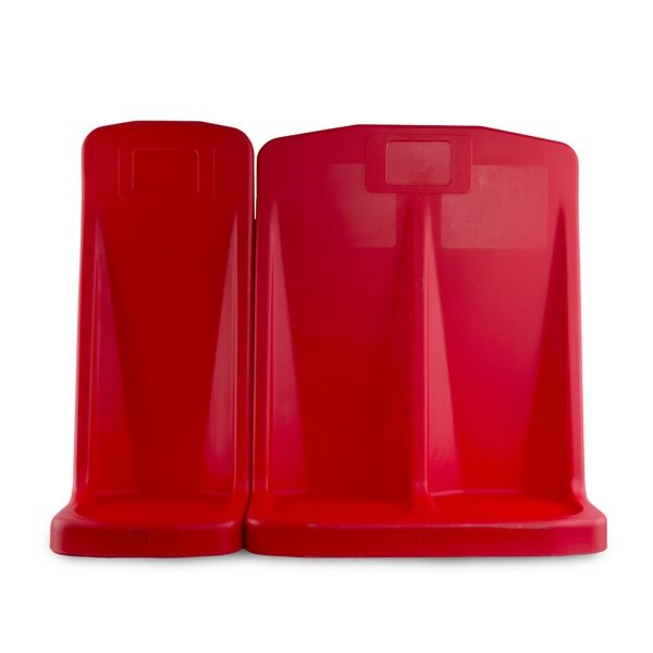 Triple Traditional Fire Extinguisher Stand - Jonesco Rotationally Moulded