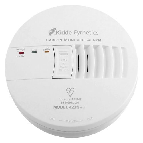 Mains Powered Interconnectable CO Detector - Kidde 4239HIR