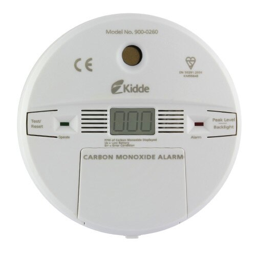 Carbon Monoxide Detector (Digital Display) - Kidde 900-0260
