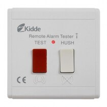 Image of the Battery Operated Kidde Slick Wireless Remote Control Switch with Test & Hush - Kidde RTH-RF