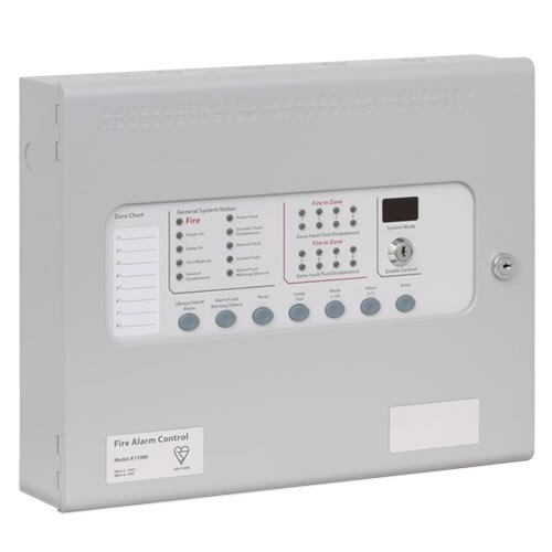 kentec sigma k11 fire alarm panel 2 zone