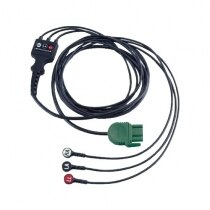 Image of the Physio-Control Lifepak 1000 3-lead ECG Cable