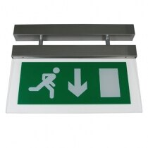 Image of the Decorative LED Fire Exit Sign - MPDB