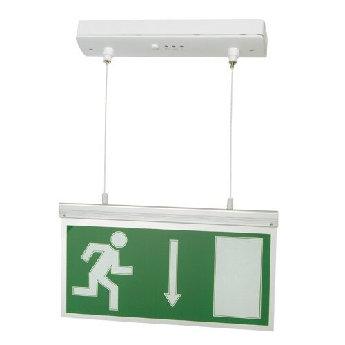 Hanging LED Fire Exit Sign with Self-Test - MPL3M