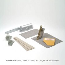 Image of the Ironmongery Protection for Fire Door Locks, Hinges and Door Closers