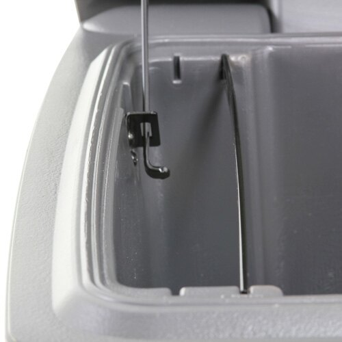 Sentry H3100 suspension file rail and hold open catch