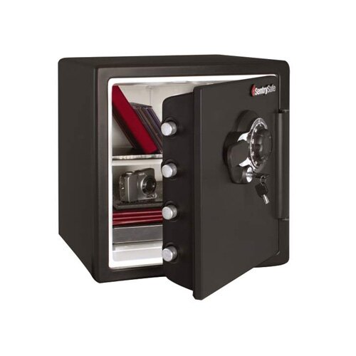 Sentry SFW123DSB Dual Lock Fire and Waterproof Safe