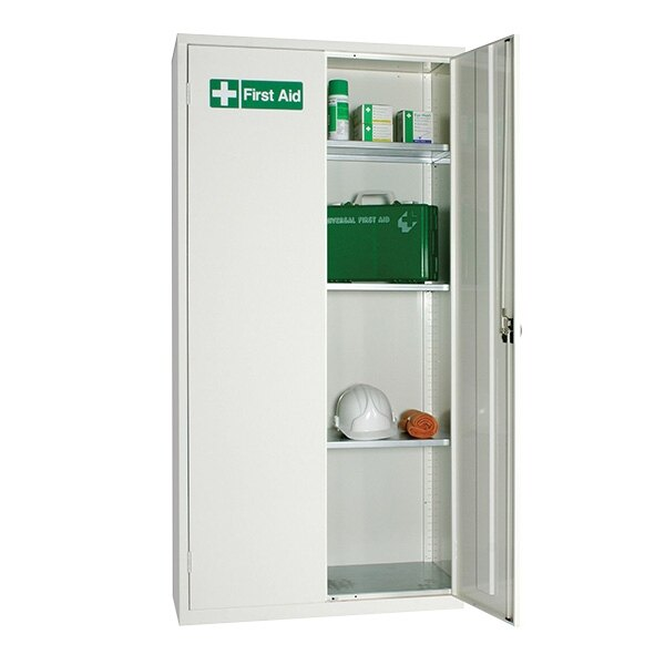 Double Door First Aid Storage Cabinets