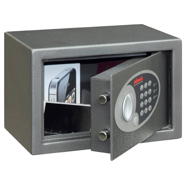 The Phoenix Vela safe is suitable for home and office use