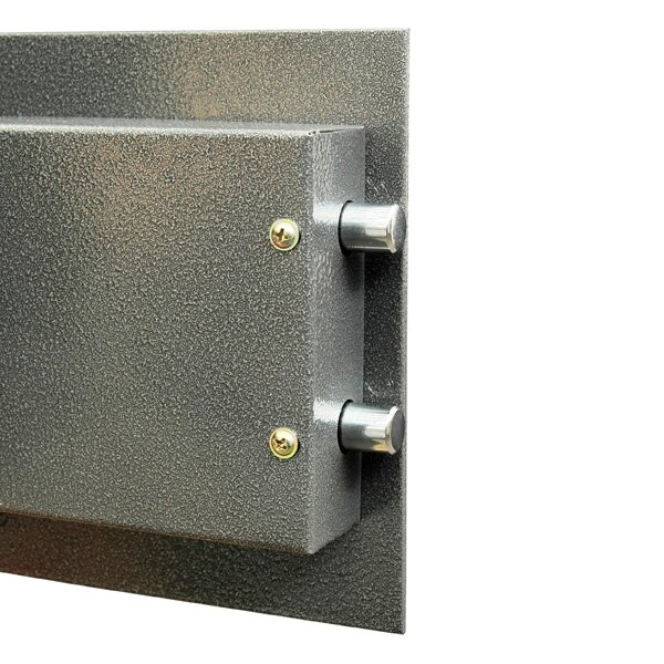 The Phoenix Vela safe door has twin live locking bolts
