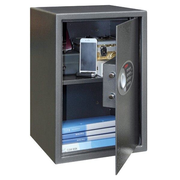 The Phoenix Vela 0804E is n ideal security safe for home and office use