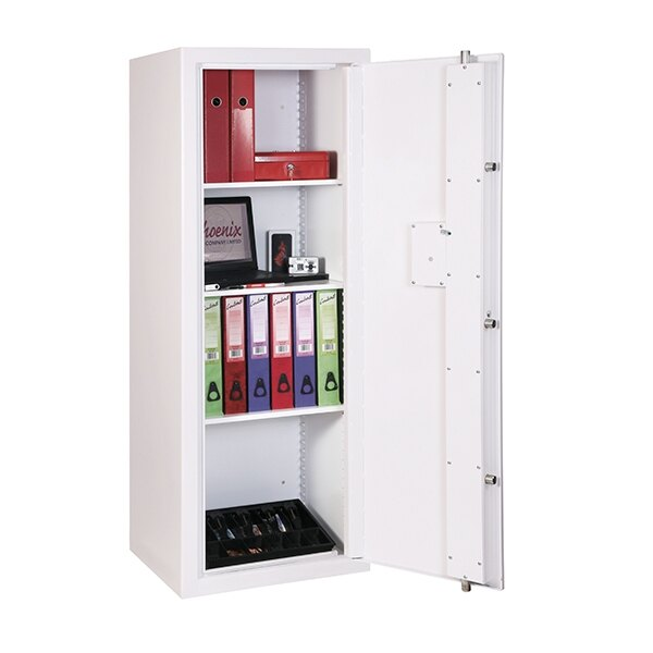 Supplied with 3 height adjustable shelves