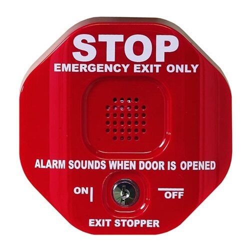 Exit Stopper Door Alarm Single Door Sti 6400