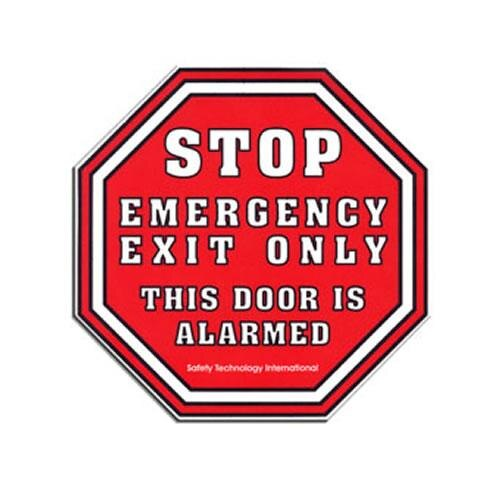 Alarm Warning Emergency Exit Sign