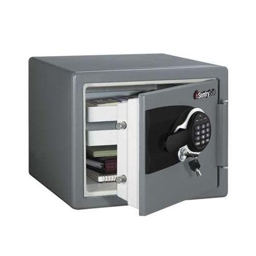 Sentry MSW0809 - Fireproof and Waterproof Safe for Digital Media