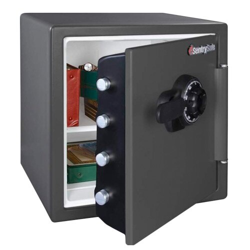 Sentry SFW123CSB - Fire and Waterproof Safe with Combination Lock