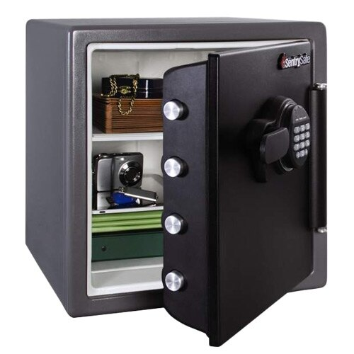 Sentry SFW123FSC - Fire and Waterproof Safe with Backlit Electronic Lock