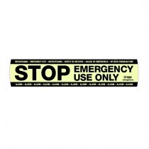 Image of the Sigma Smart+Shield Fluorescent STOP Sticker