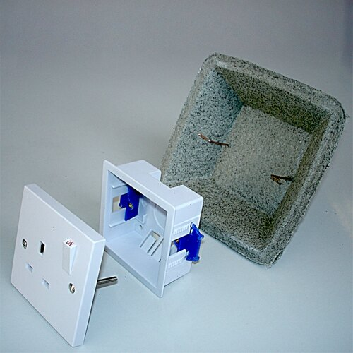 Intumescent Cover for Switches and Sockets
