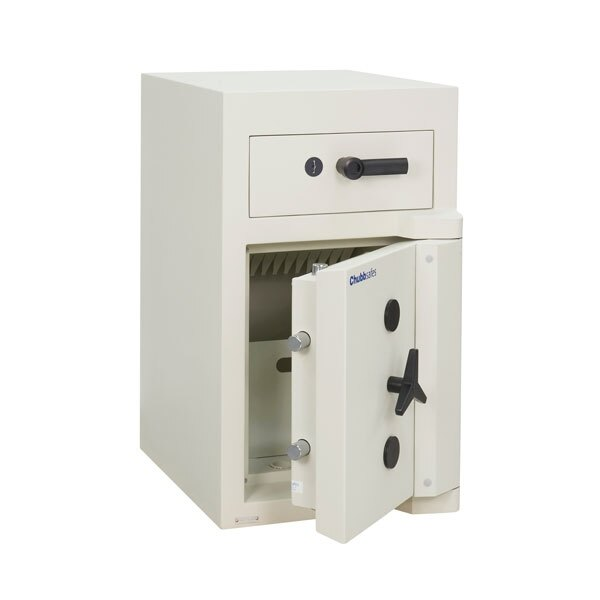 The Sovereign security safe features high security key locks