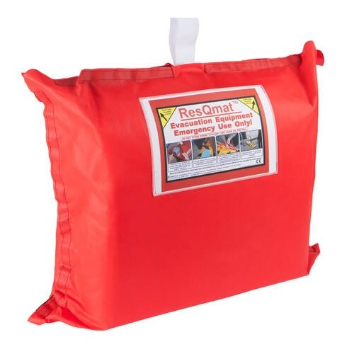 The Spectrum Healthcare ResQmat comes with a highly visible storage bag