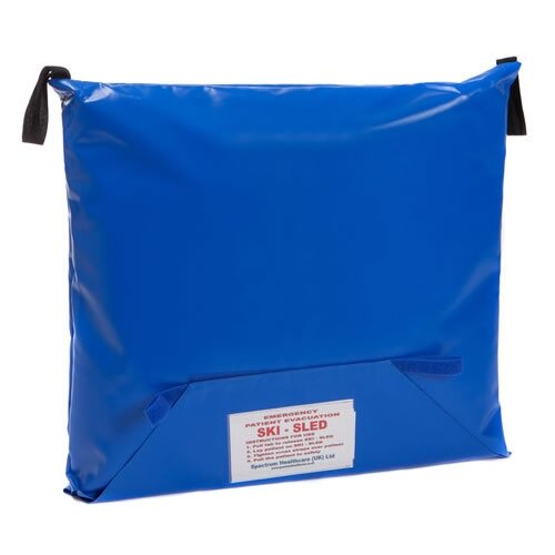 The Spectrum Healthcare Ski Sled is supplied with a wall mounted storage bag
